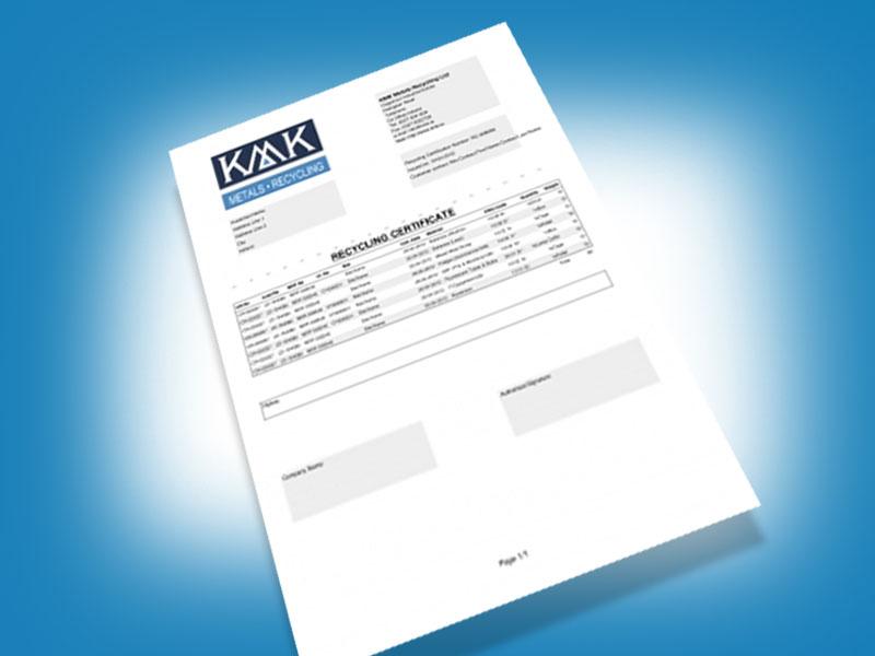 kmk-metals-recycling-certificate